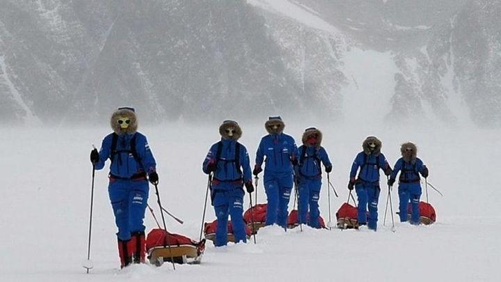 Blanca Bernalviaja a la Antártida junto a otras 99 mujeres