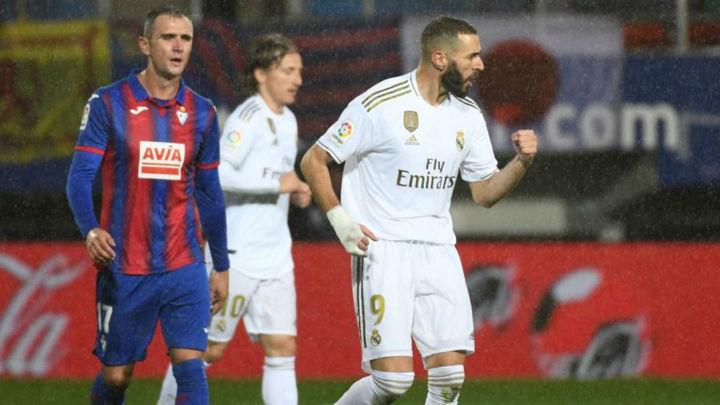 0-4. El Real Madrid se exhibe en Eibar