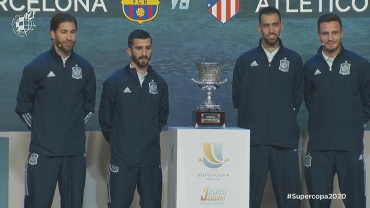 Valencia-Real Madrid y Barça-Atlético, semifinales de la Supercopa de España