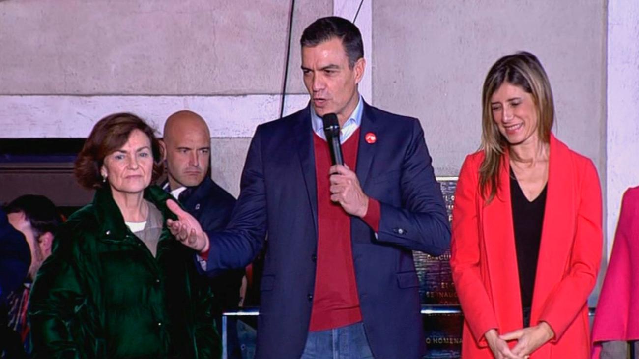 """Pedro Sánchez: """"Mi empeño es que esta vez sí o sí vamos a conseguir un gobierno progresista"""""""
