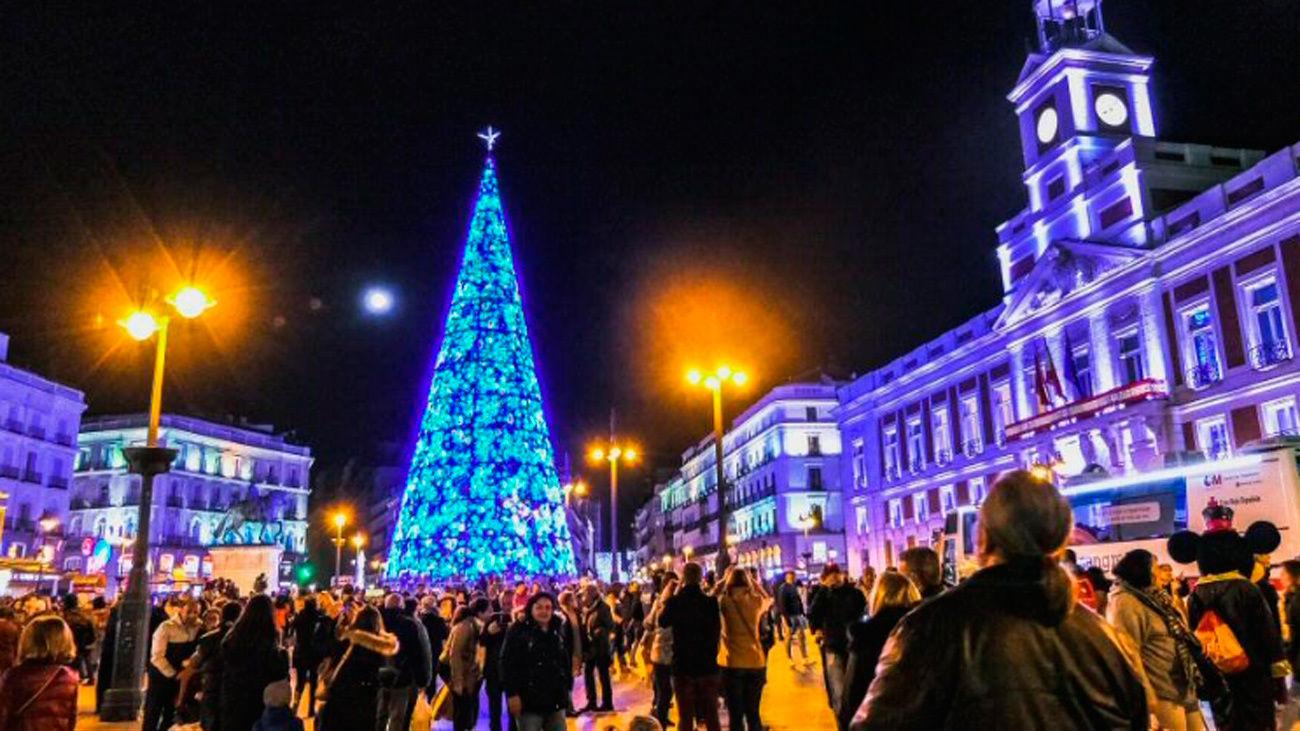 Madrid se ilumina en Navidad