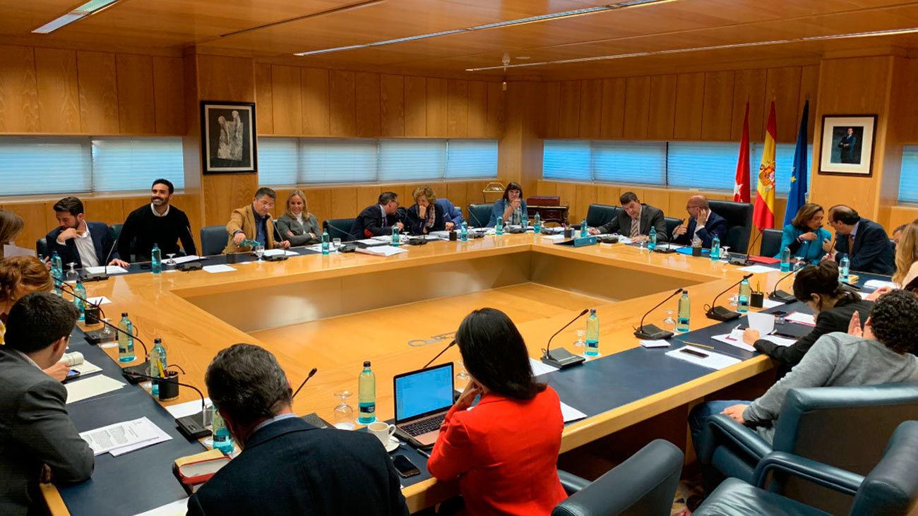 La Mesa de la Asamblea de Madrid