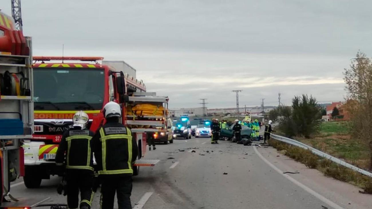Mueren dos hombres en una colisión múltiple en Torrejón de Velasco