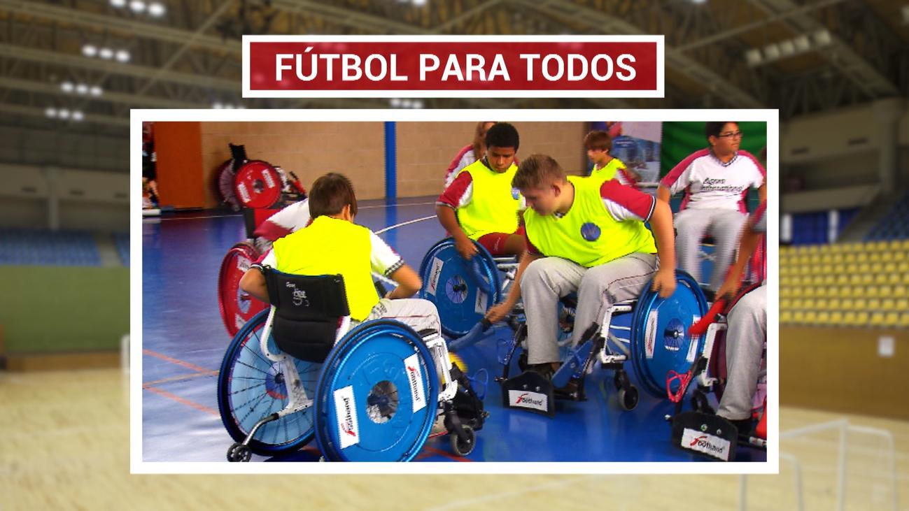 Foothand, fútbol accesible y sobre sillas de ruedas