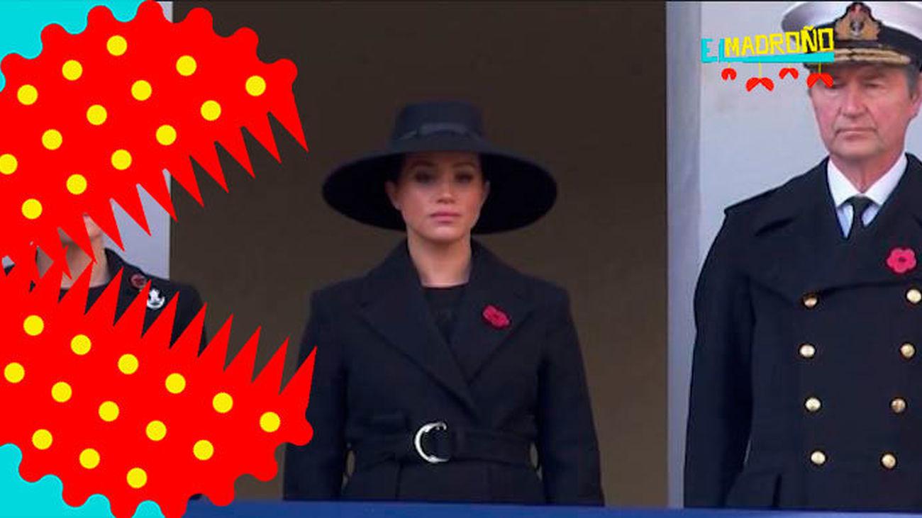 Así ha sido el tenso reencuentro de los Duques de Sussex y los Duques de Cambridge