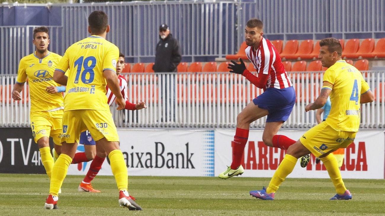 Atlético de Madrid B - Atlético Baleares