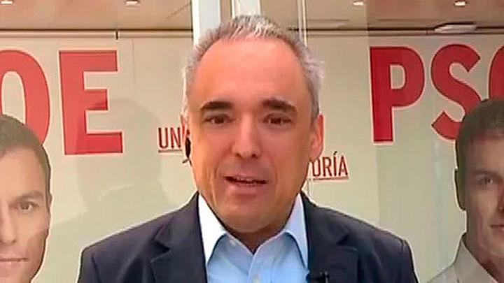 """Rafael Simancas: """"No queremos un gobierno que dependa de los independentistas"""""""