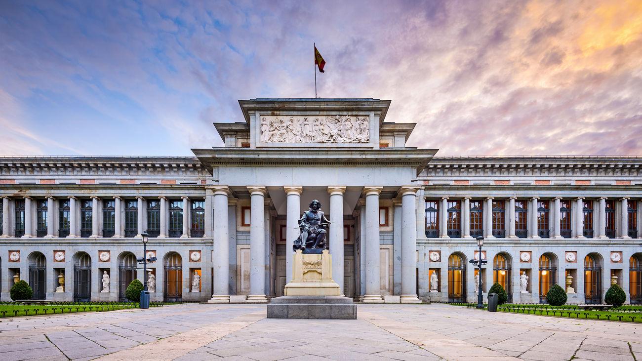 Vista del Museo del Prado