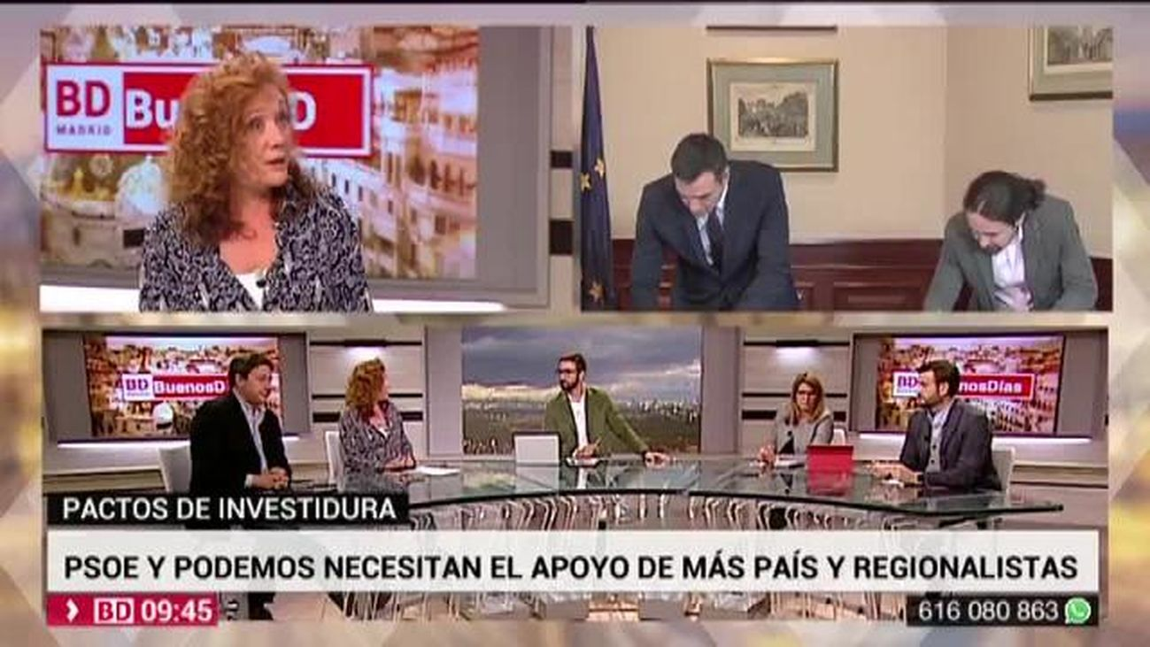 Buenos Días Madrid 13.11.2019 (9.00 - 10.30)