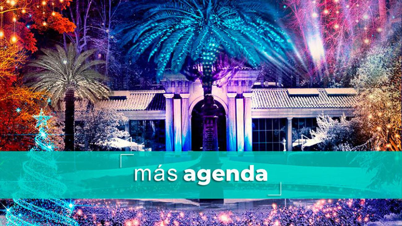 Más Agenda: luces en el Jardín Botánico