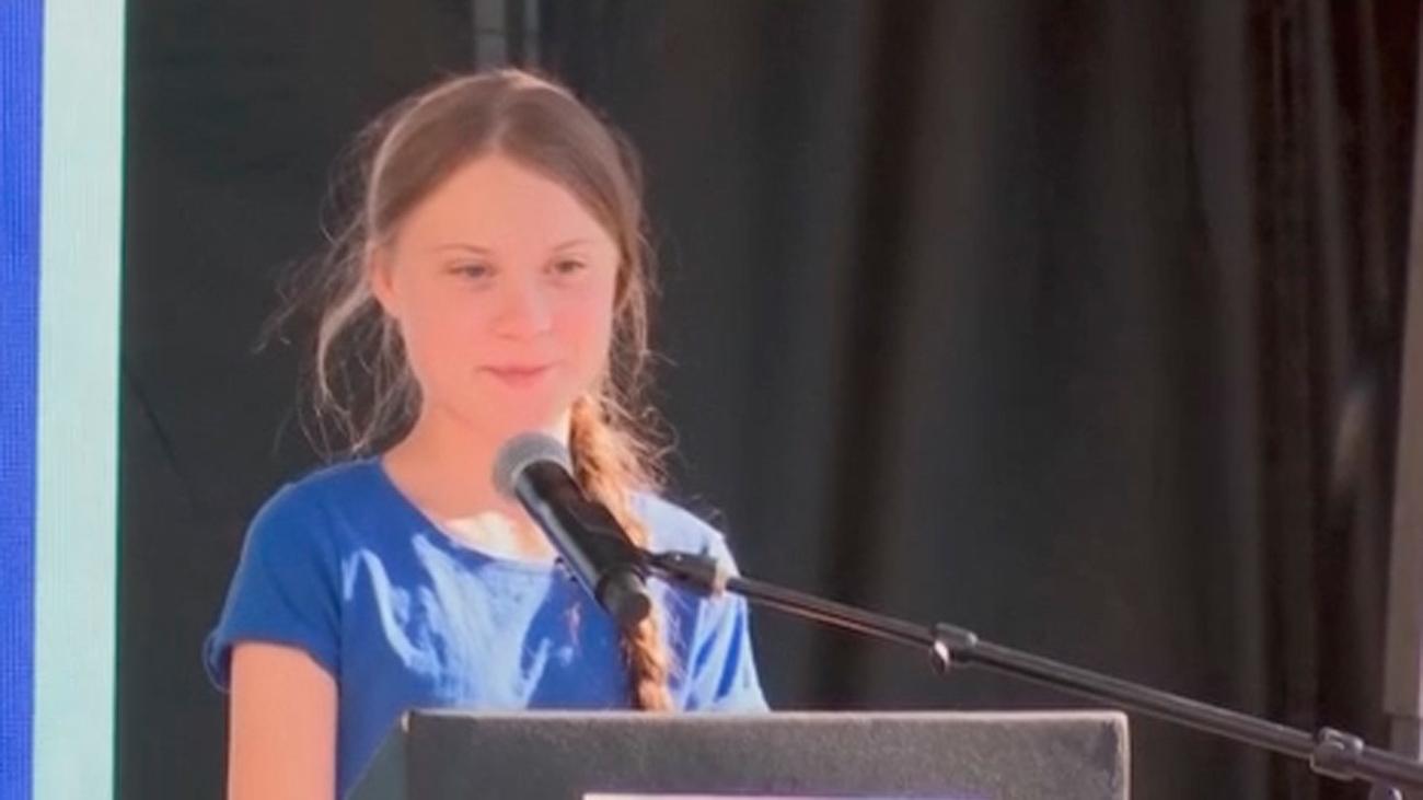 La activista Greta Thunberg  ya viaja a la Cumbre del Clima de Madrid en un catamarán australiano