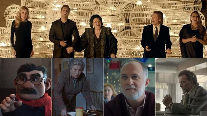 Los anuncios de la Lotería de Navidad de los últimos 10 años