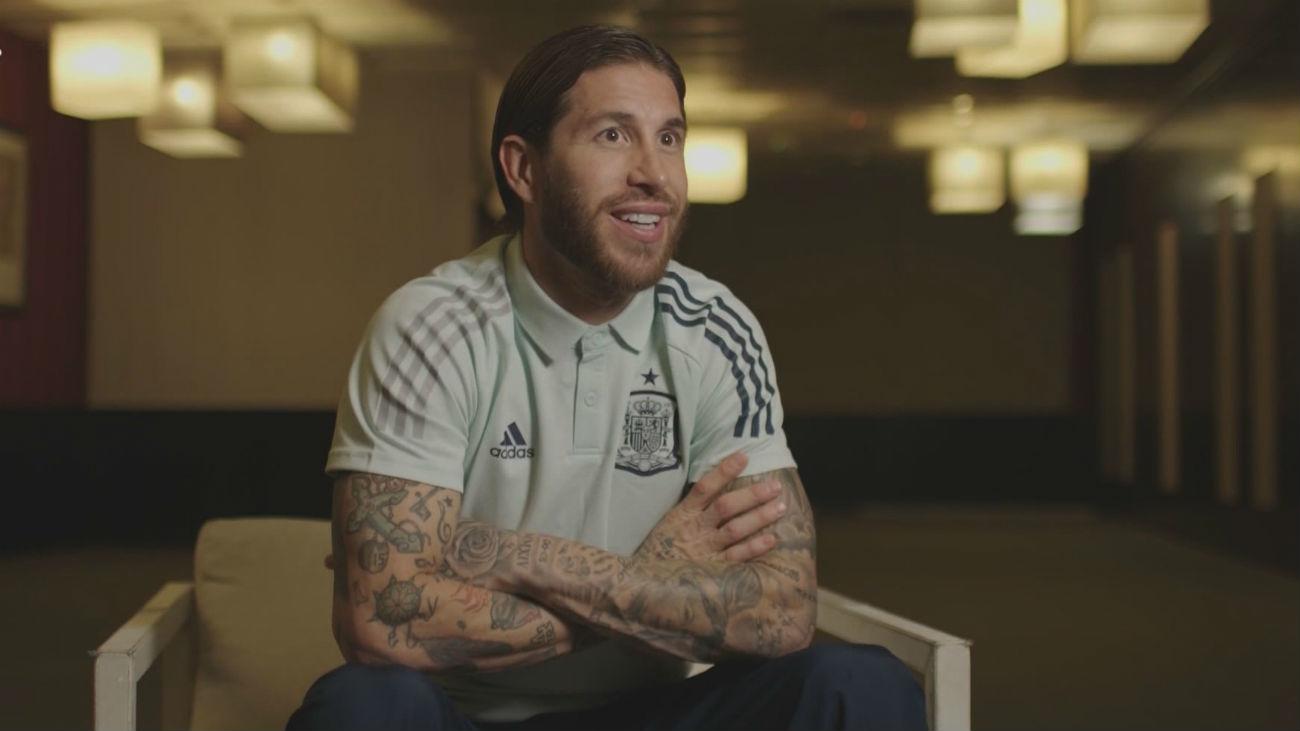 """Sergio Ramos: """"El que más me marcó fue Luis Aragonés"""""""