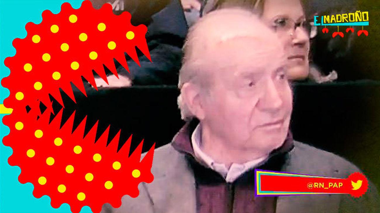 El Rey Juan Carlos reaparece con una brecha en la frente, ¿qué le ha pasado?