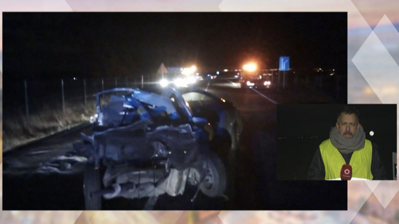 Muere un hombre en una colisión entre dos turismos en Villanueva del Pardillo