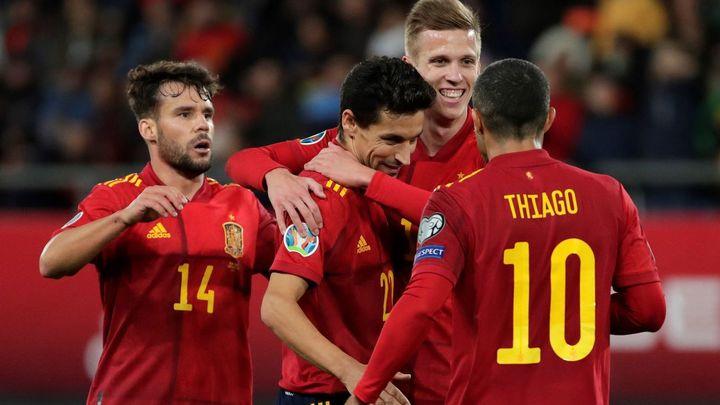 7-0. Festín de España ante la débil Malta