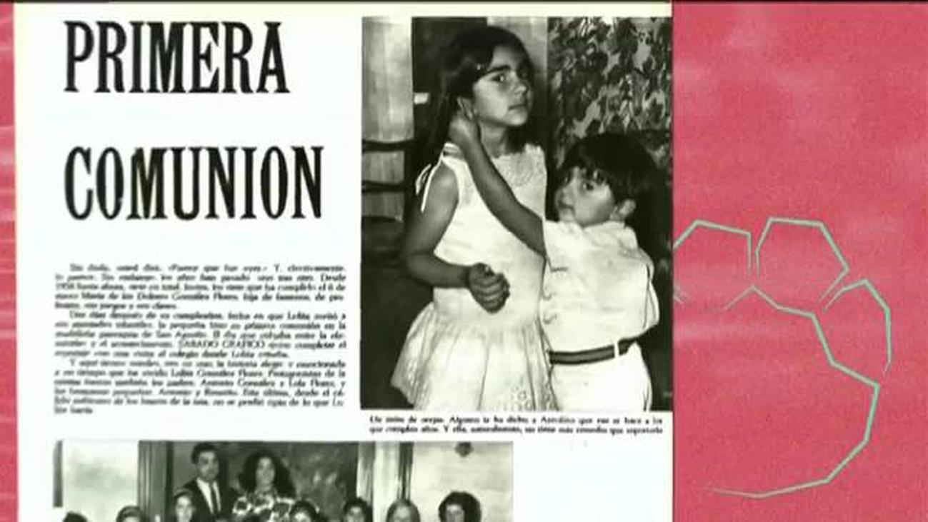 Así fue la infancia de Lolita Flores, junto a sus hermanos
