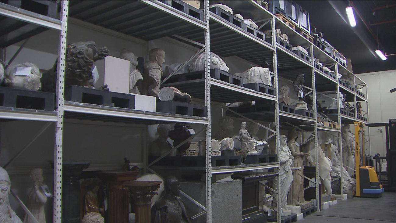 Los almacenes del museo del Prado