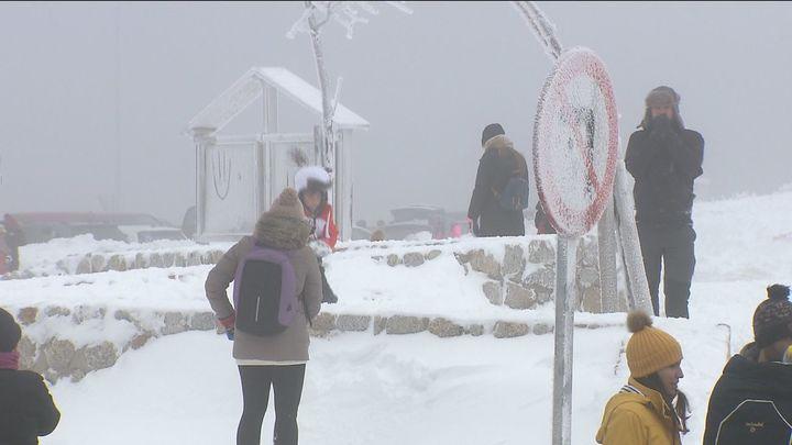 Aviso a los ayuntamientos de la Sierra por nevadas a 1.500 metros