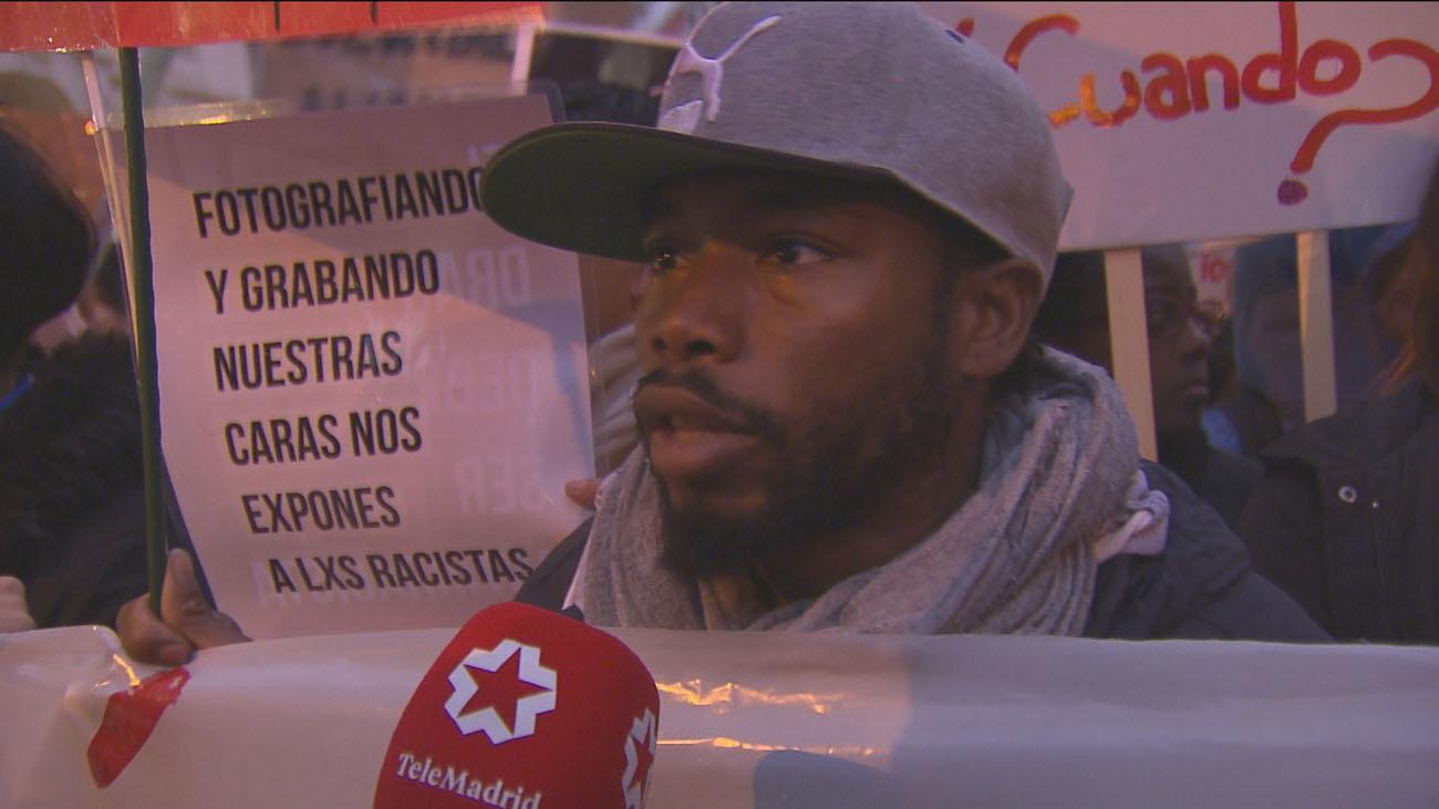 Mil personas claman en Madrid contra el racismo