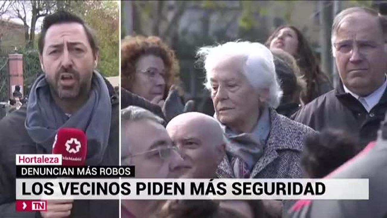 Vecinos de Hortaleza piden seguridad ante el centro de menores extranjeros