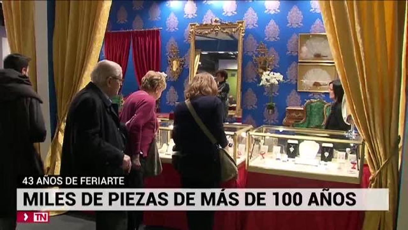 La 43º edición de Feriarte, un escaparate para la joyería antigua en España