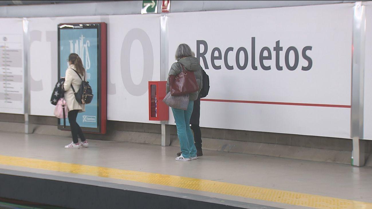 Se reanuda la circulación de trenes por Recoletos