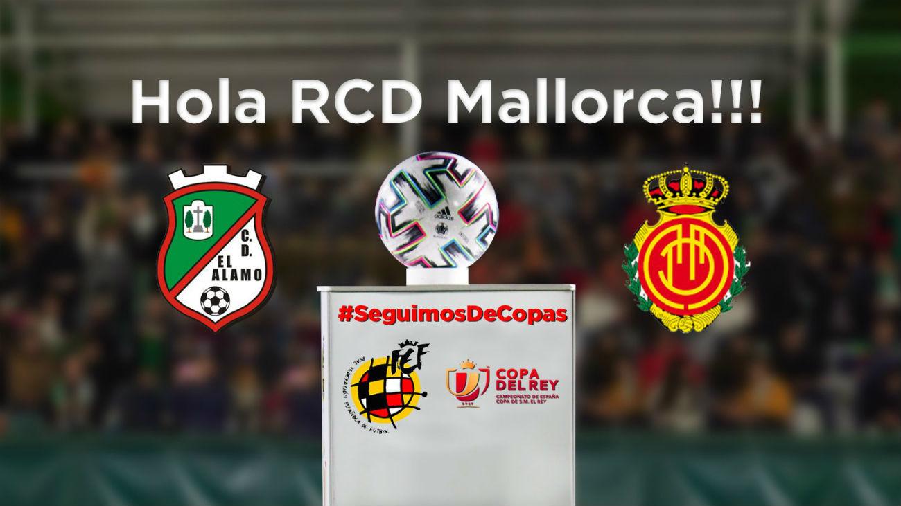 Álamo-Mallorca anima la primera eliminatoria de la Copa del Rey