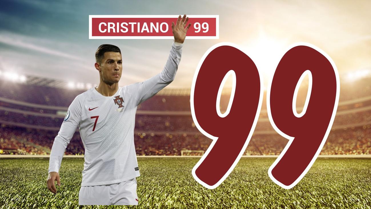 Cristiano Ronaldo llega a los 99 goles y lleva a Portugal a la Eurocopa