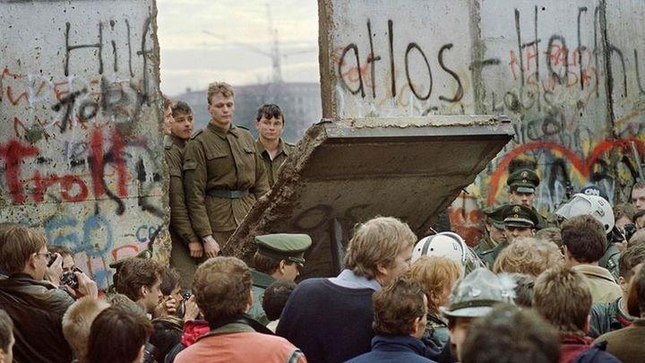 La música que ayudó a derribar el muro de Berlín