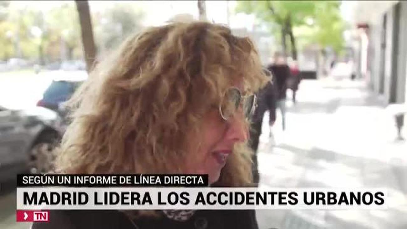Madrid, la ciudad con más 'puntos rojos' de  siniestralidad urbana
