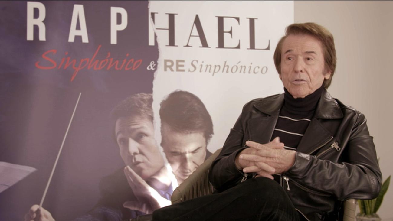 Raphael presenta 'Sinphónico y resinphónico'