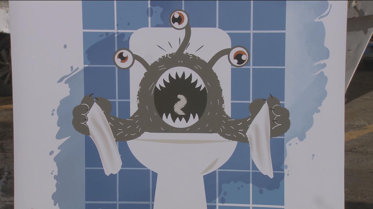 No alimentes al monstruo de las cloacas