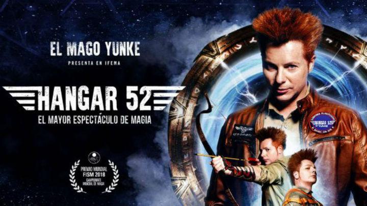 La magia HANGAR 52 del Mago Yunke se prolonga hasta el 19 de enero