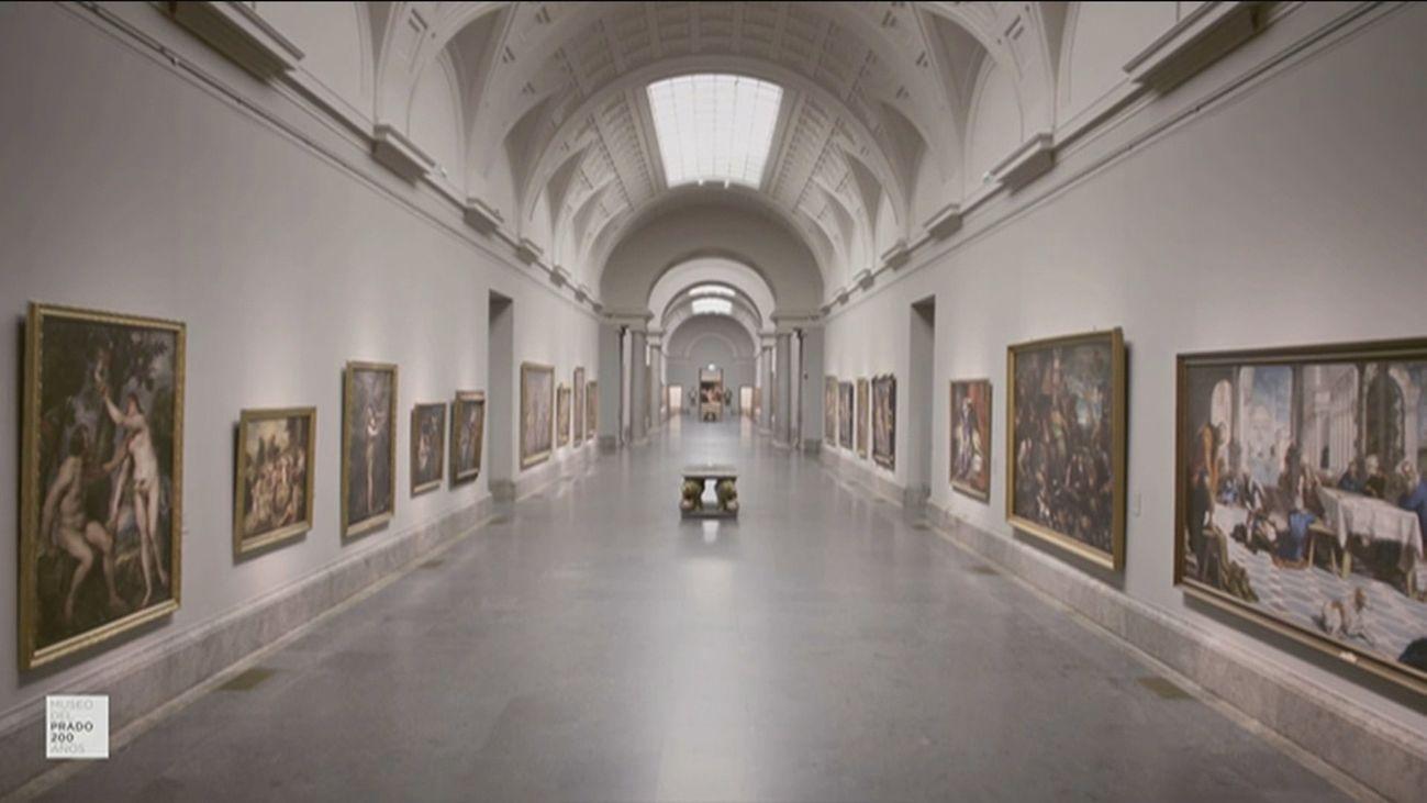 Galería en el Museo del Prado
