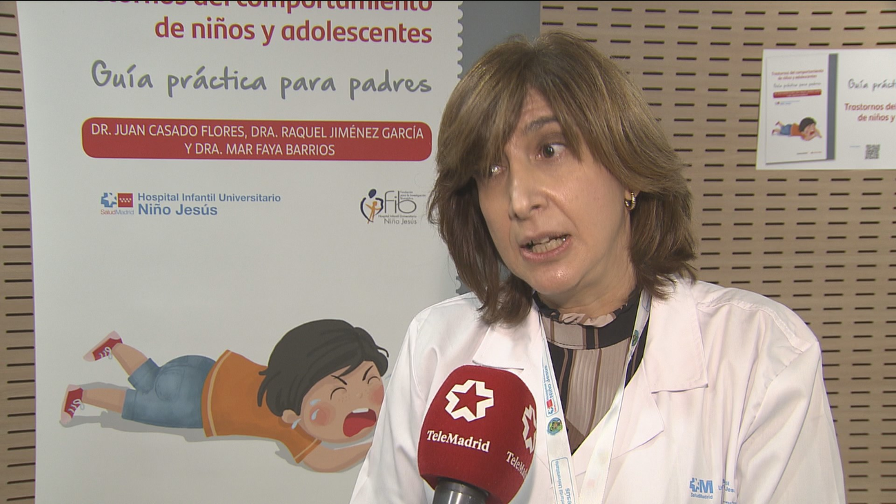 El Hospital Niño Jesús publica  una guía para padres  sobre trastornos de comportamiento en niños