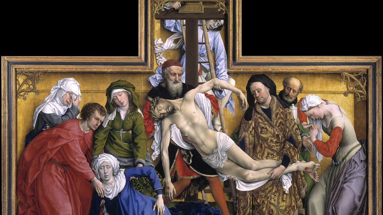 El Descindimiento, una de las obras maestras de la pintura flamenca