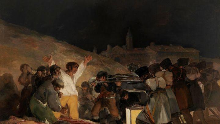 Los fusilamientos del 3 de mayo, la primera obra del Arte contemporáneo