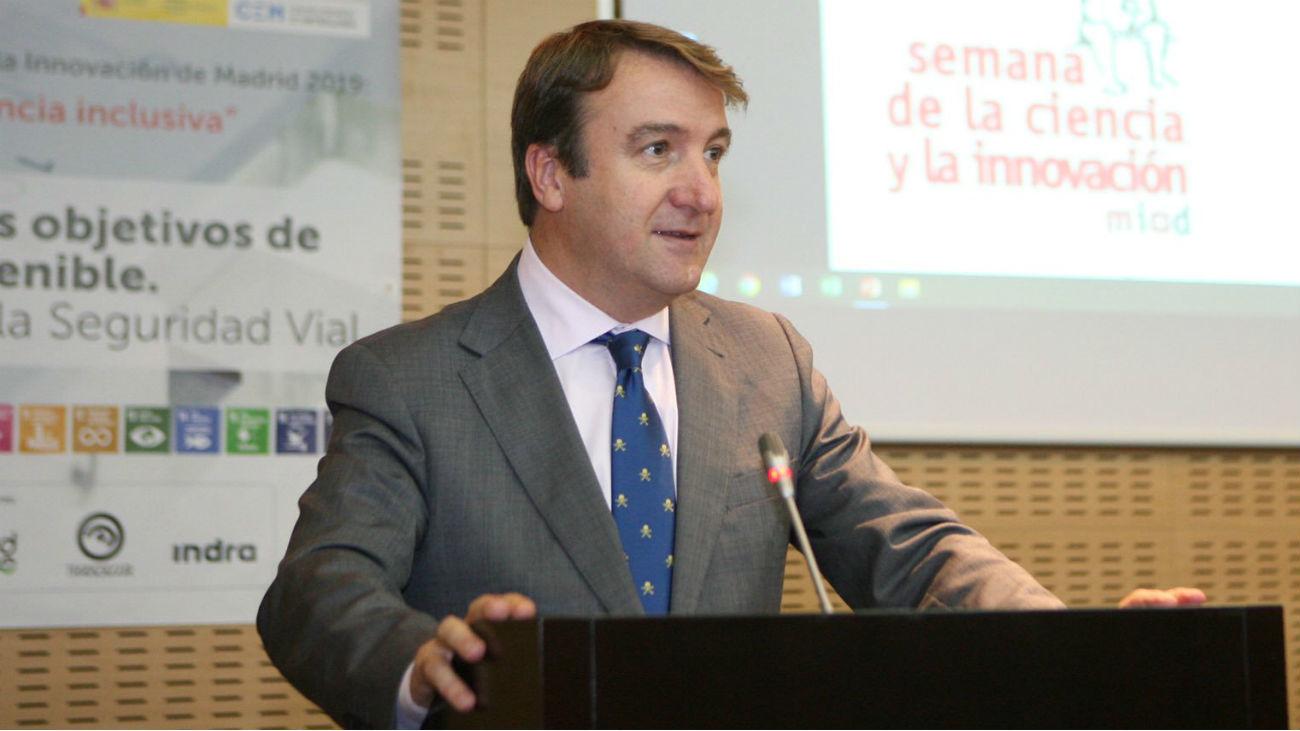 Jesús Moreno, alcalde de Tres Cantos