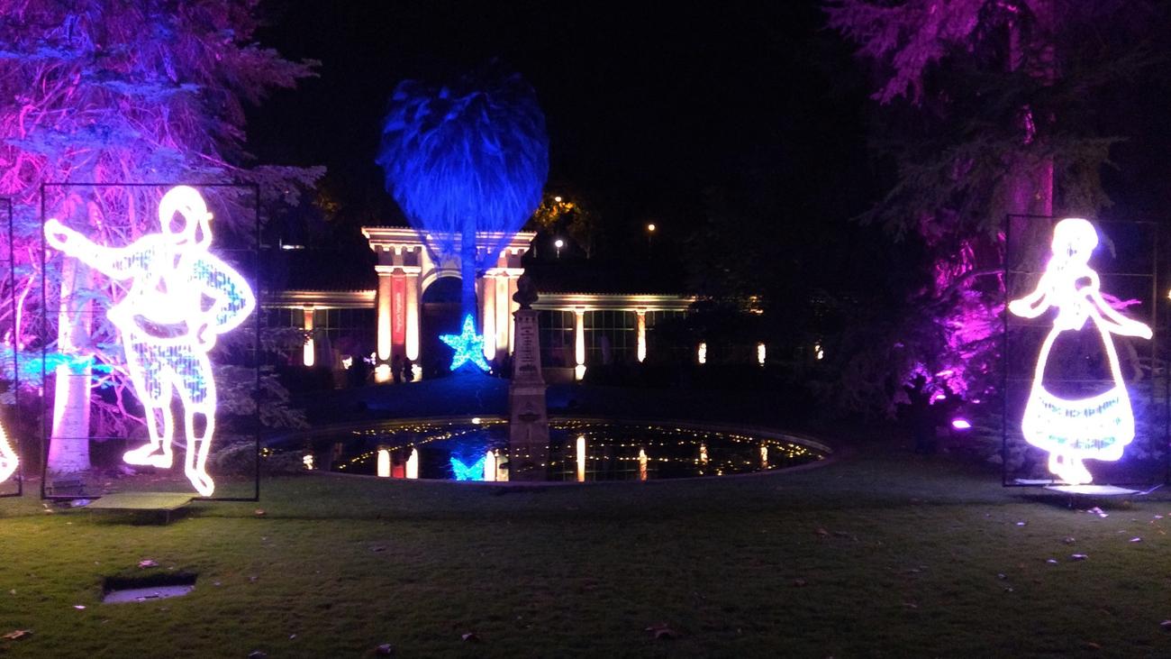 'Luces del Botánico'