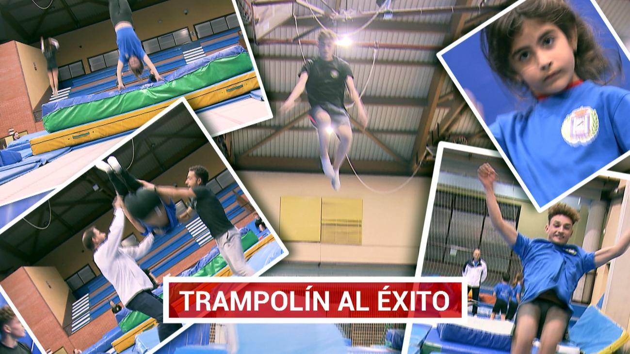 Escuela de talentos en gimnasia de trampolín en Getafe