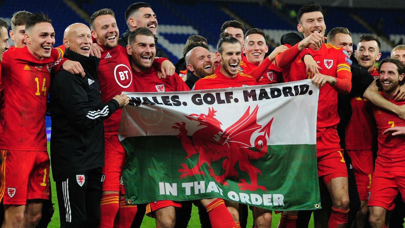 Polémica celebración de Bale con Gales