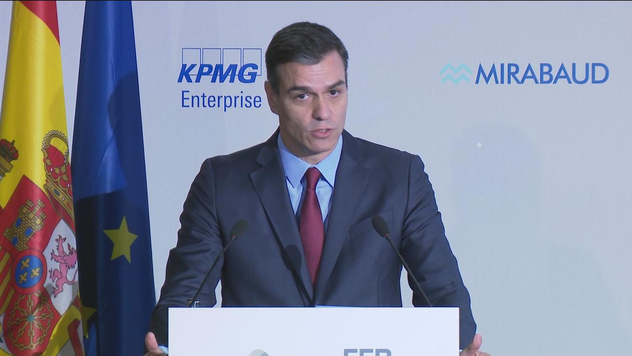 Sánchez rehusa hacer declaraciones sobre los ERE y  confía en acabar con el bloqueo