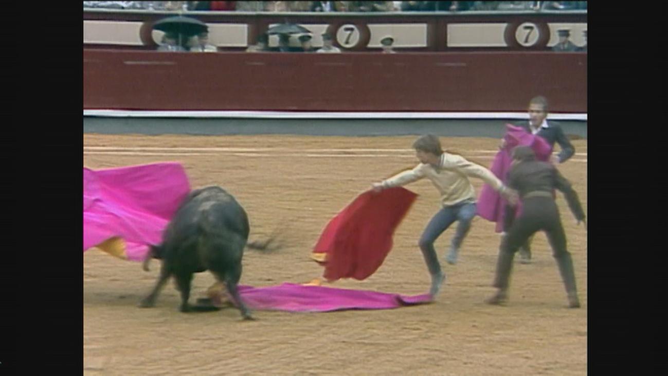 Manuel Díaz 'El Cordobés' saltó al ruedo mientras su padre toreaba en 1986