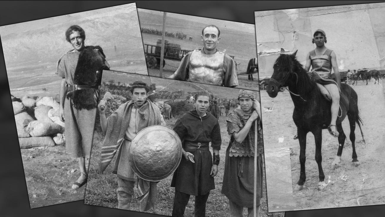 Casa de campo, uno de los escenarios del rodaje de 'Espartaco'