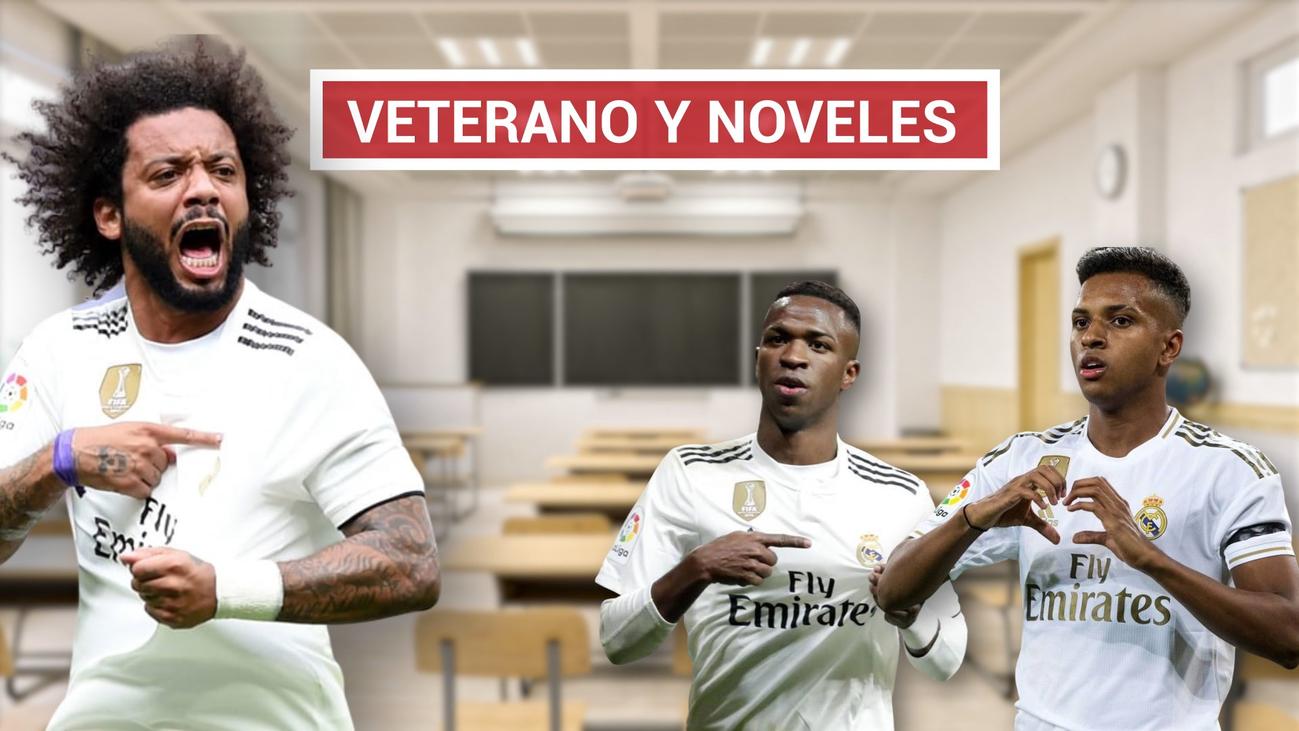 """Marcelo: """"Vinícius y Rodrygo saben que en cada partido tienen que demostrar cosas"""""""
