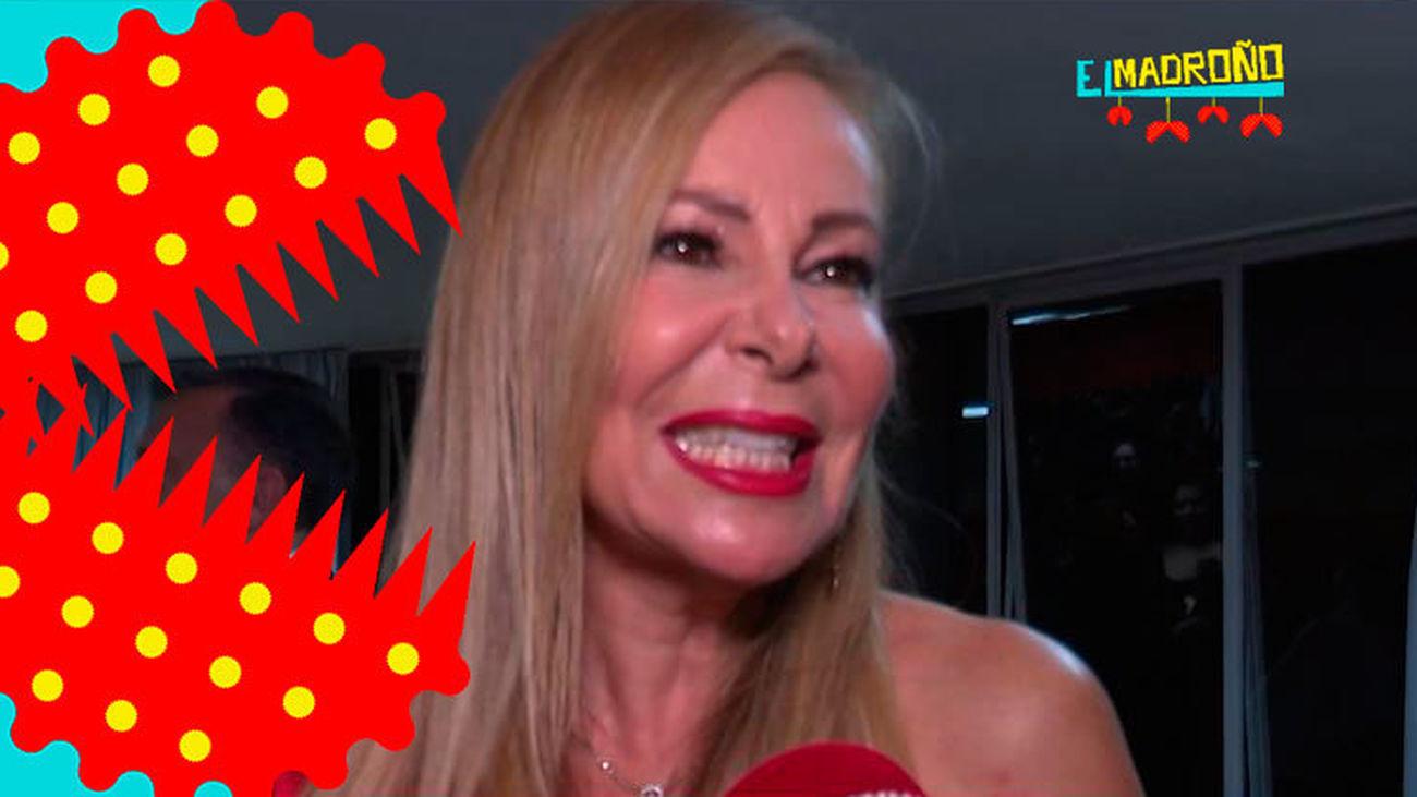 Ana Obregón habla, por primera vez, de la operación de su ex, Alessandro Lecquio