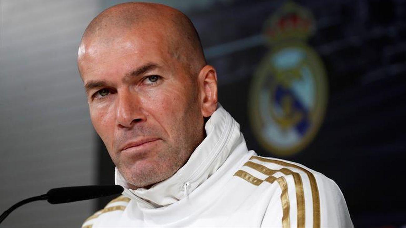 """Zidane se queja del calendario: """"Es demasiado"""""""