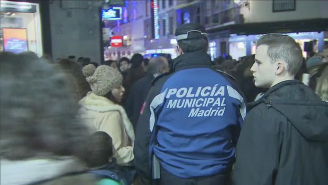 Arranca el dispositivo de seguridad para la Navidad en Madrid
