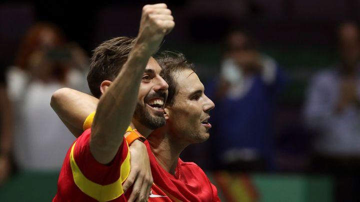España remonta contra Argentina y se mete en semifinales de la Copa Davis